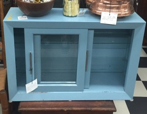 Blue cabinet
