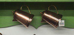 copper hanging