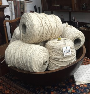 wool in a bowl