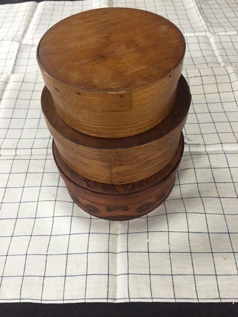 Tags: Antique Kitchen, Antique Storage, Decorative, Kitchen Decor,  Primitive, Storage Boxes, Trinket Boxes, Vintage Kitchen, Wood, Wood Boxes,  Wood Circular ...