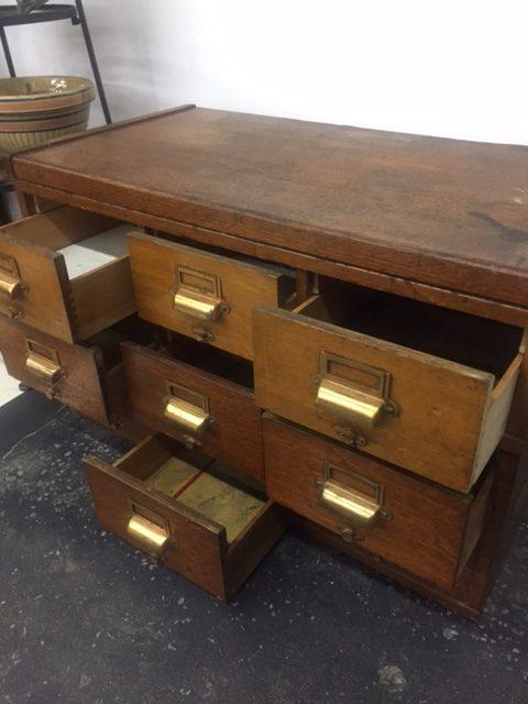 Tags antique boxes bathroom decor bathroom vanity decor storage storage vintage boxes. & Vintage Industrial Oak storage box - Antiques Vintage u0026 Mid-Century ...