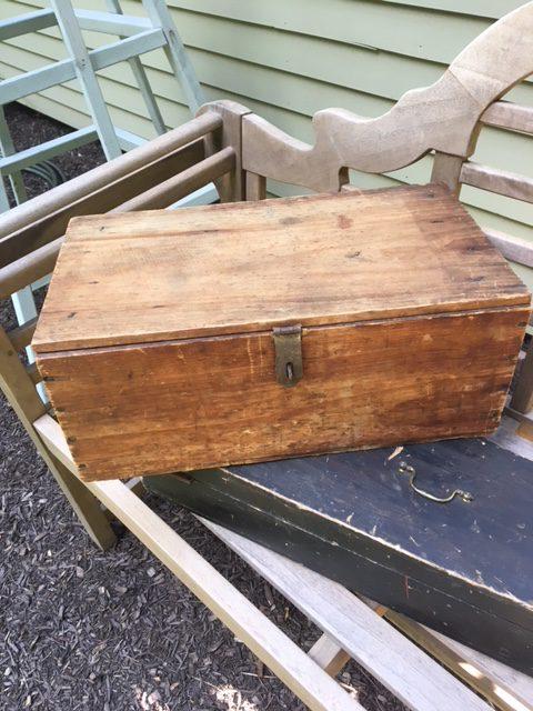 Vintage Storage Wood Boxes Farm Decor Stacking Boxes Antique Wood