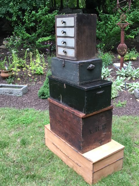 Wood Storage Vintage And Antique Tool Farm And Boxes Decorative And