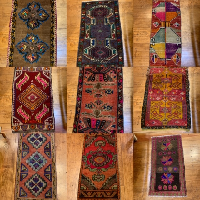 Small Turkish rugs