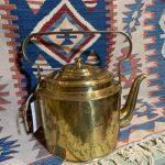 Russian marked Brass Kettle