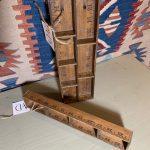 Tramp art ruler trays