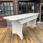 Vermont Antique Farmhouse painted bench